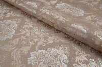 Жаккард Flower damask beige