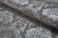 Жаккард Flower damask grey