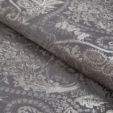 Жаккард Flower paisley-grey